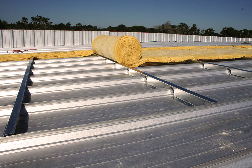 Metal Roof Insulation