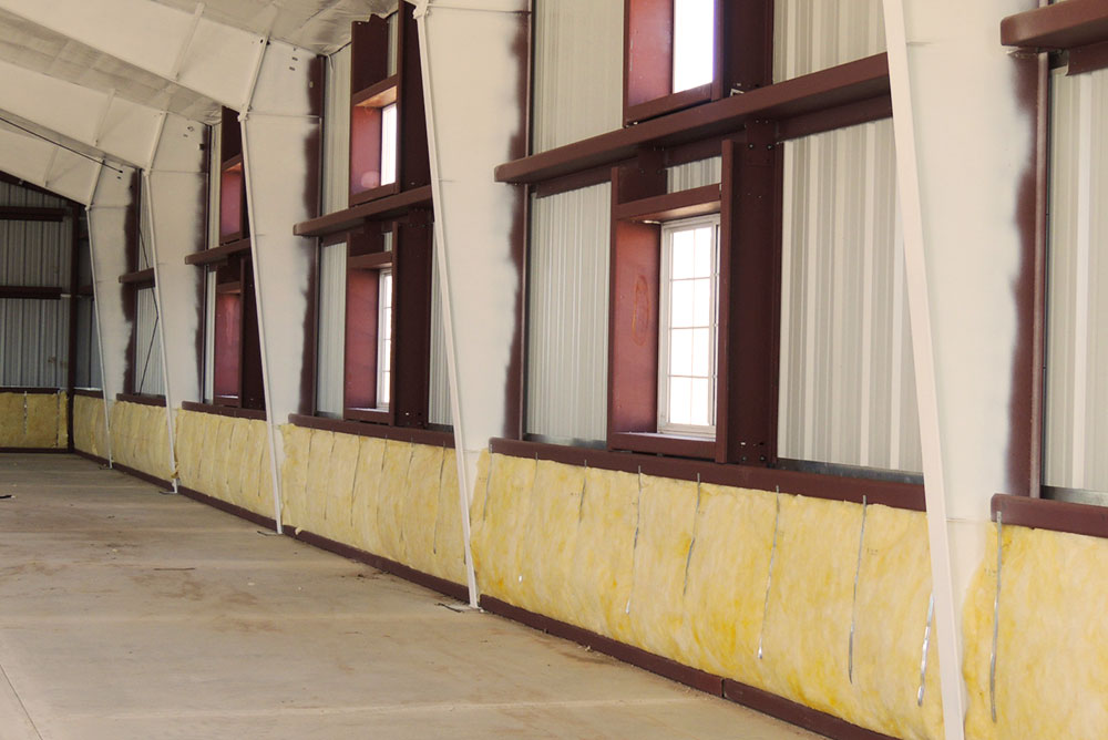 Steel Building Wall Insulation