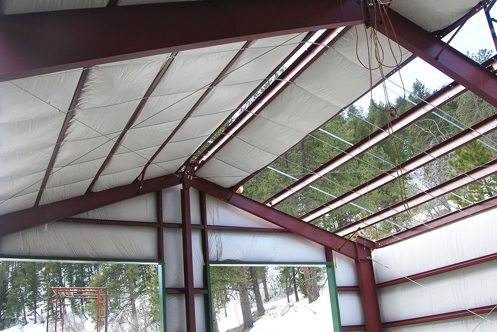 Metal Building Insulation Package