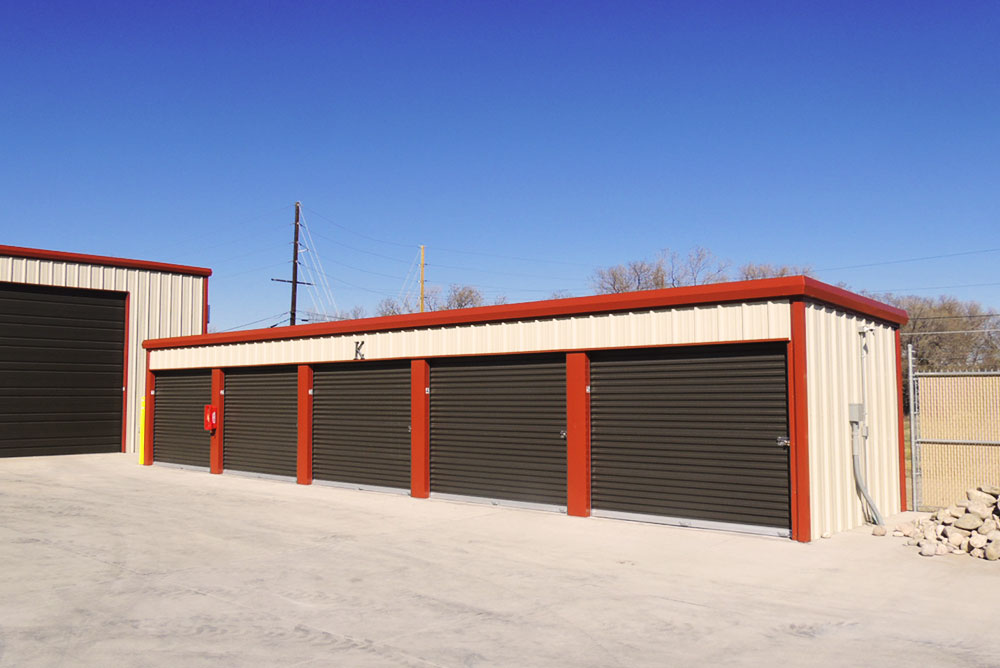 Self-Storage Building Erection