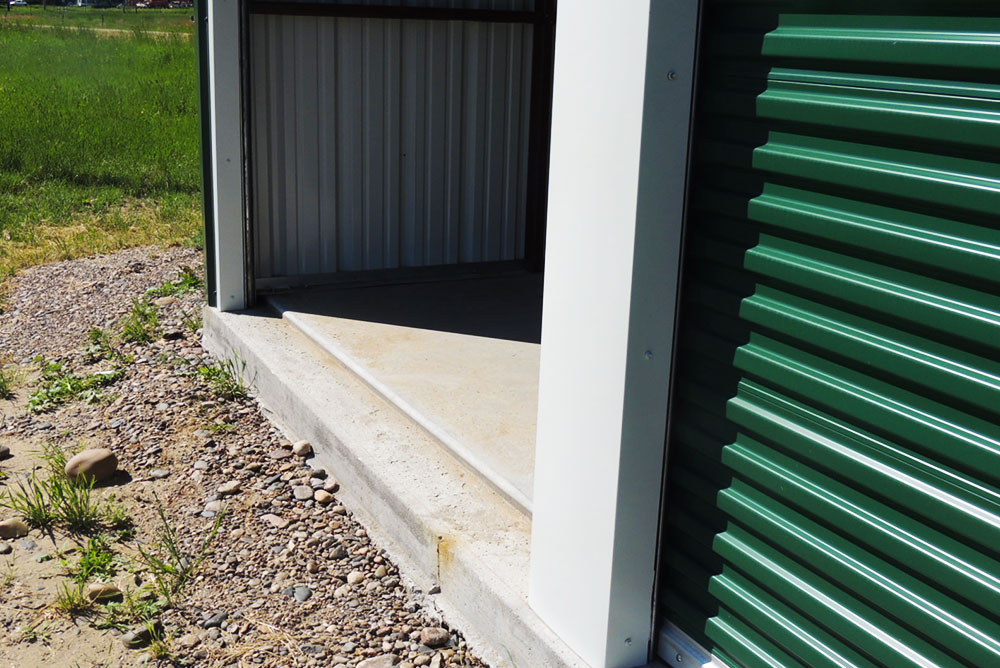 Concrete Foundation Notch