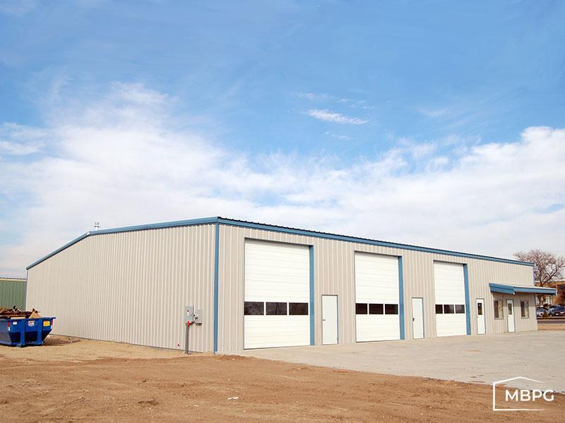 40x100 Steel Building