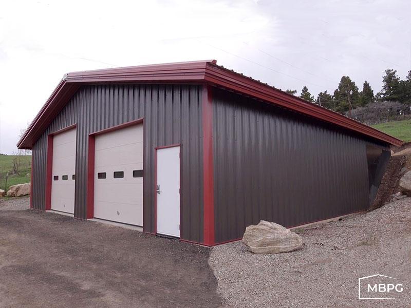 40x40 Steel Building