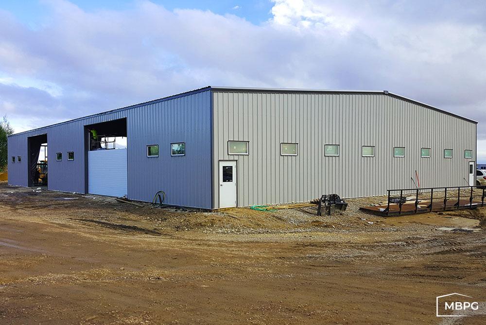 60x80 Metal Building
